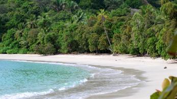 Strand von Costa Rica