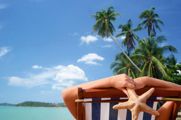 Am Strand relaxen - Südamerika