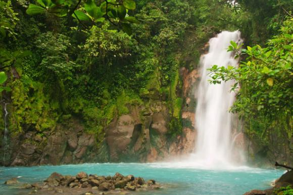 Wasserfall in Costa Rica