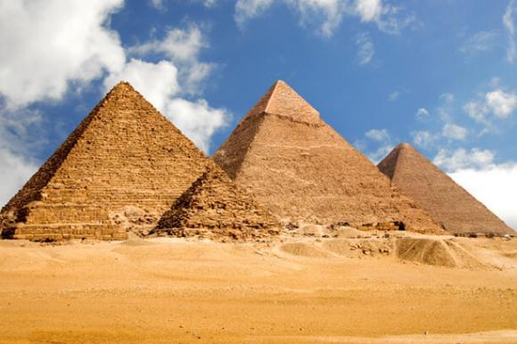 Pyramiden von Gizeh – Ägypten