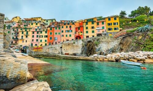 Italien, Riomaggiore, Cinque Terre