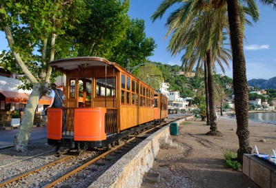 Mallorca Port de Soller Bahn
