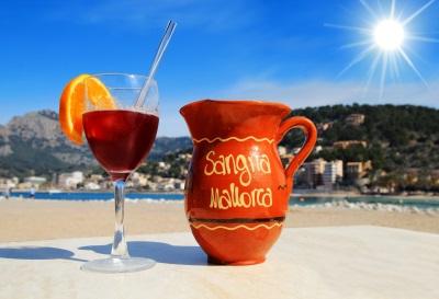 Mallorca Sangria Glas