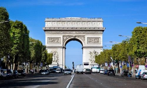 Paris, Arc de Triomphe, Champs-Élysées