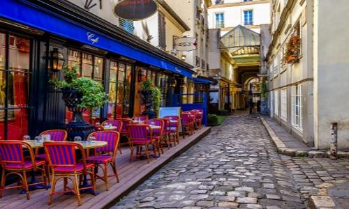 Pariser Caffe, bunt