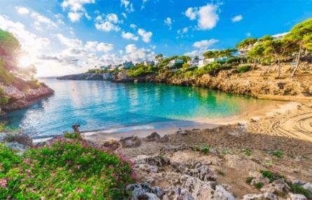 Mallorca Strand Cala Esmeralda