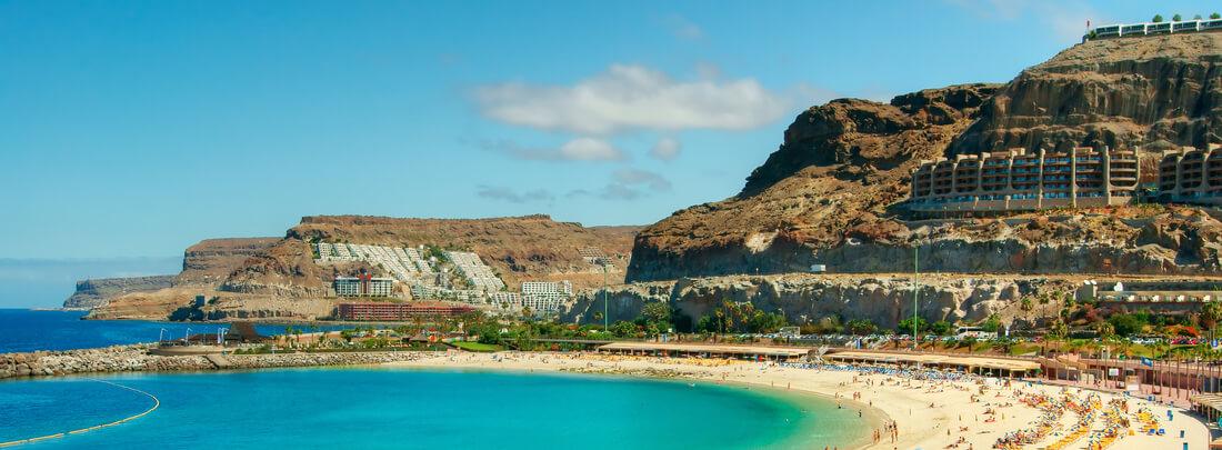 Strand auf Gran Canaria, Spanien, Kanaren