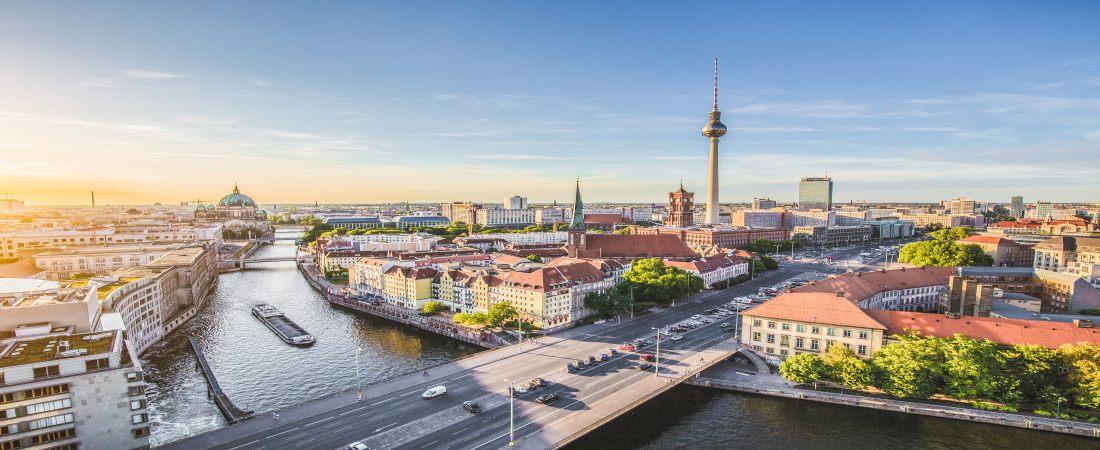 Berlin Panorama mit Fernsehturm