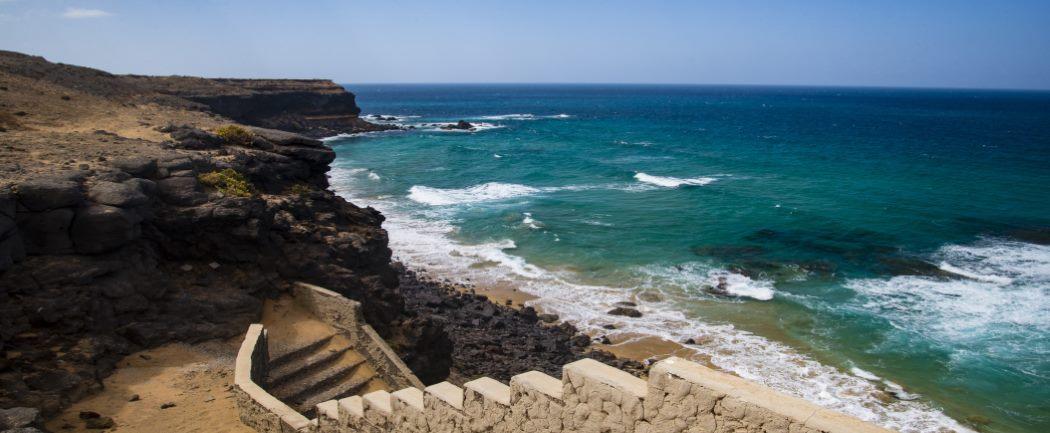 Kanaren, Fuerteventura, Playa Escalera,