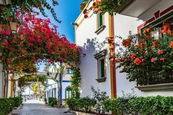 Haus in Porto de Mogan auf der Kanarischen Insel Gran Canaria