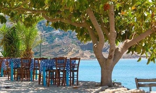 Griechenland Kreta Restaurant