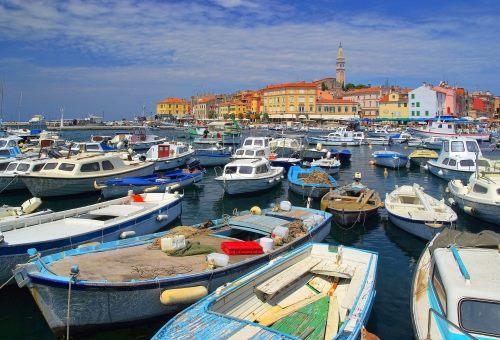 Istrien, Rovinj Hafen