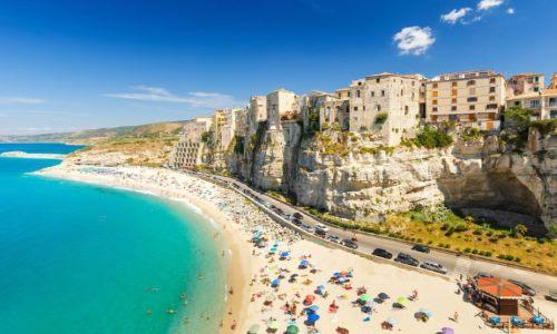 Italien, Tropea Strand (Kalabrien)
