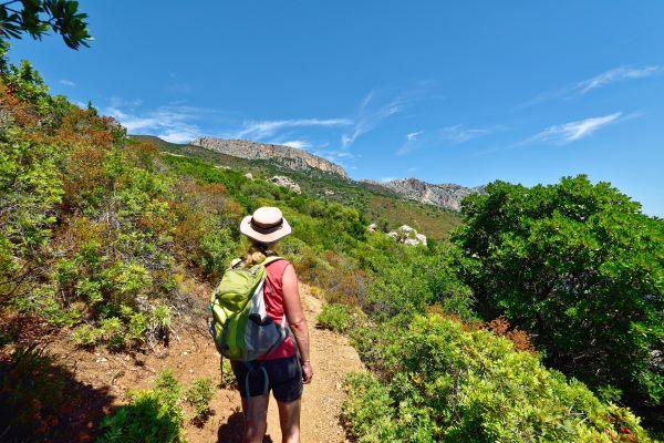 Italien, Sardinien, Wanderweg zur Pedra Longa