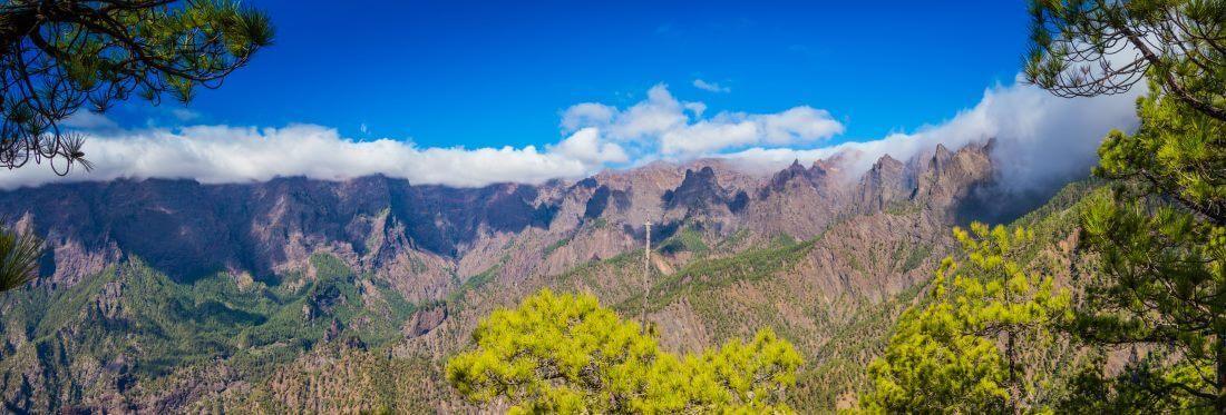 Kanaren, La Palma, Mirador de la Cumbrecita