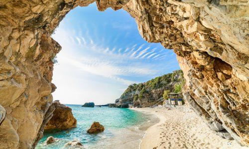 Griechische Insel Korfu, Mylopotamos