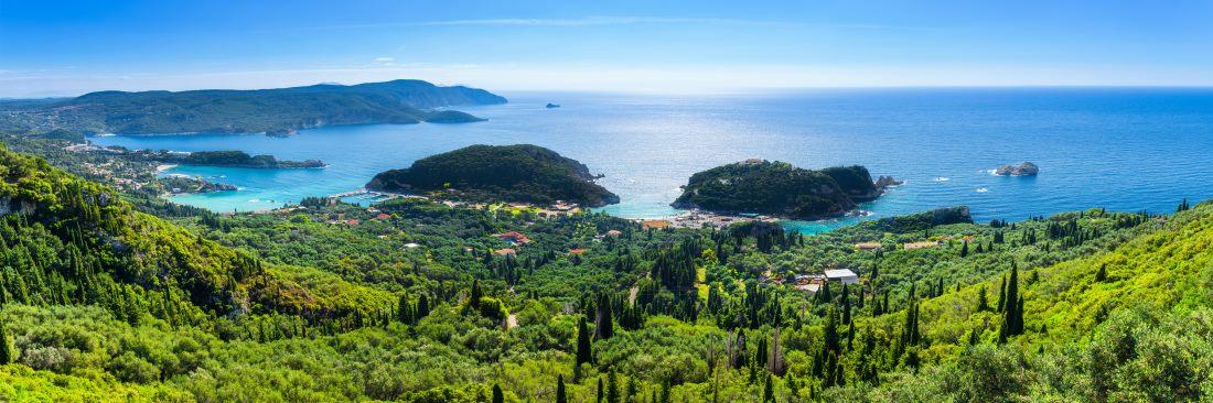 Griechische Inseln, Korfu, Paleokastrica