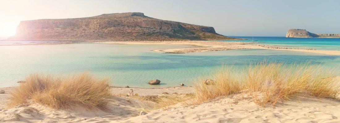 Griechenland, Kreta, Strand in Chania