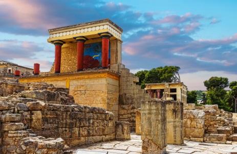 Kreta Knossos Anlage