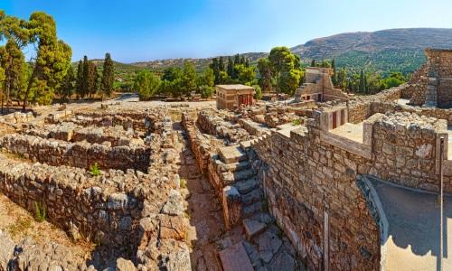 Insel Kreta Knossos, Ausgrabungen