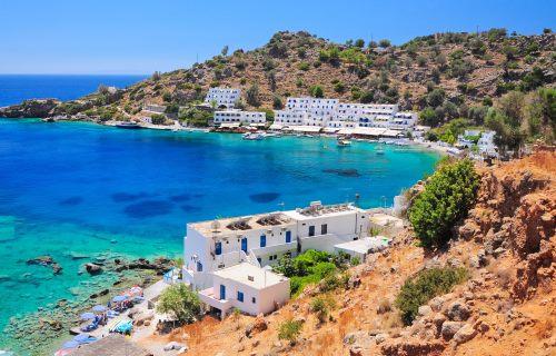 Griechenland, Kreta, Loutro Village