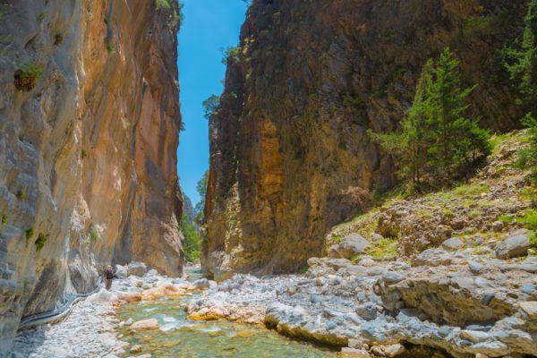 Griechenland, Kreta, Samaria Schlucht
