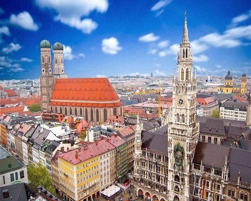 Stadtansicht Münchener Innenstadt