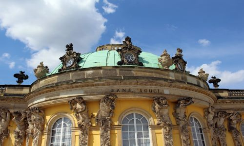 Potsdamer Schloss Sanssouci