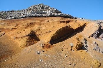 Spanien Kanaren La Palma Felsen am Roque de los Muchachos