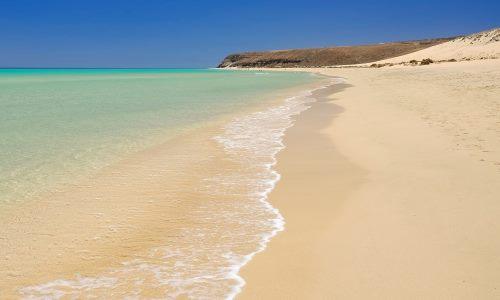 Spanien, Kanaren, Fuerteventura, Strand Sotavento