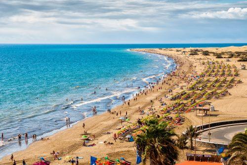 Kanaren, Gran Canaria, Strand