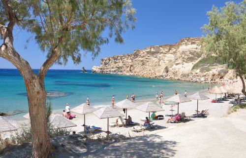 Griechenland, Kreta, Strand Triopetra