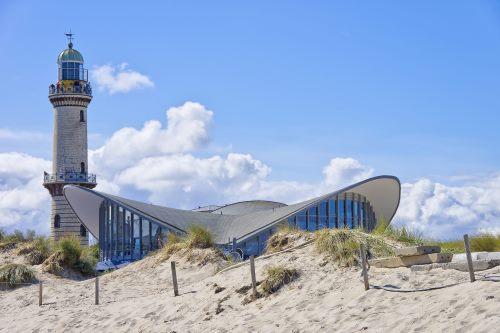 "Rostock, alter Leuchtturm Teepott"""