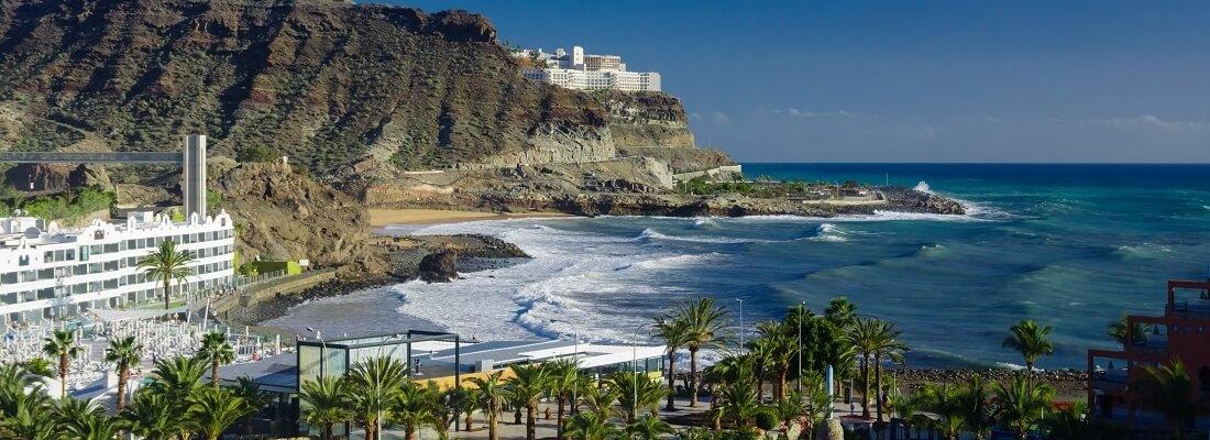 Wellengang am Playa del Cura, Gran Canaria