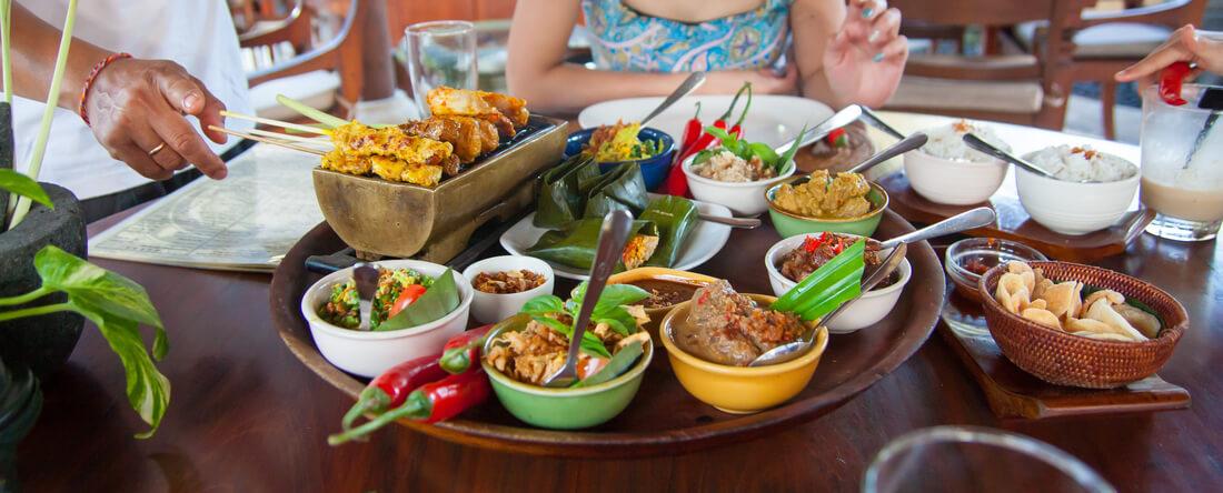 Essen auf Bali, Indonesien