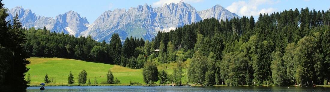 See und Berge in Österreich