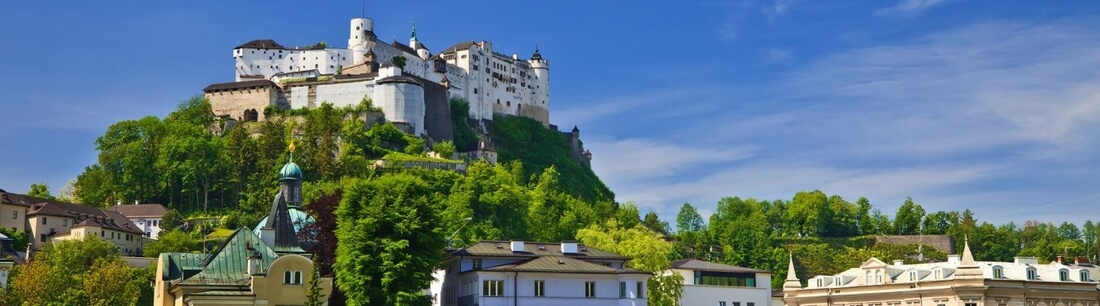 Festung Hohensalzburg ind Salzburg Österreich