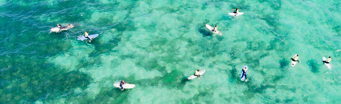Surfen auf Lanzarote, Kanaren, Spanien