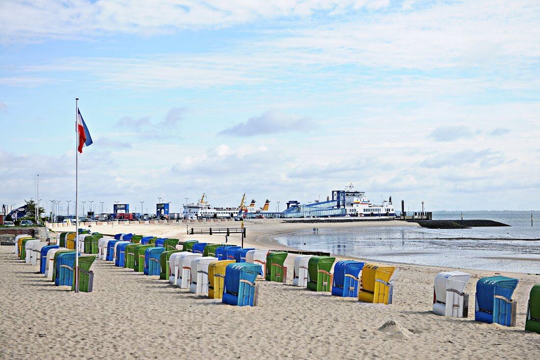 Föhr Strand Fähranleger