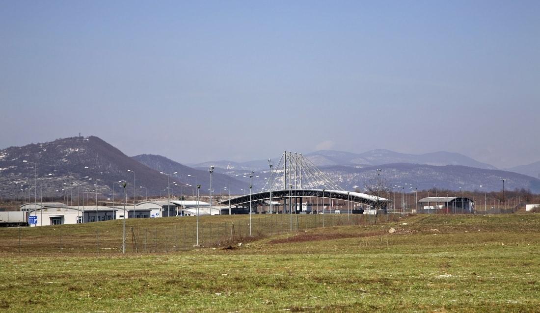Grenze zwischen Bosnien und Herzegowina und Kroatien