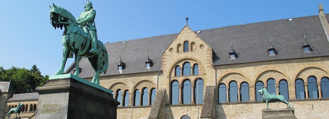 Kaiserpfalz in Goslar im Harz