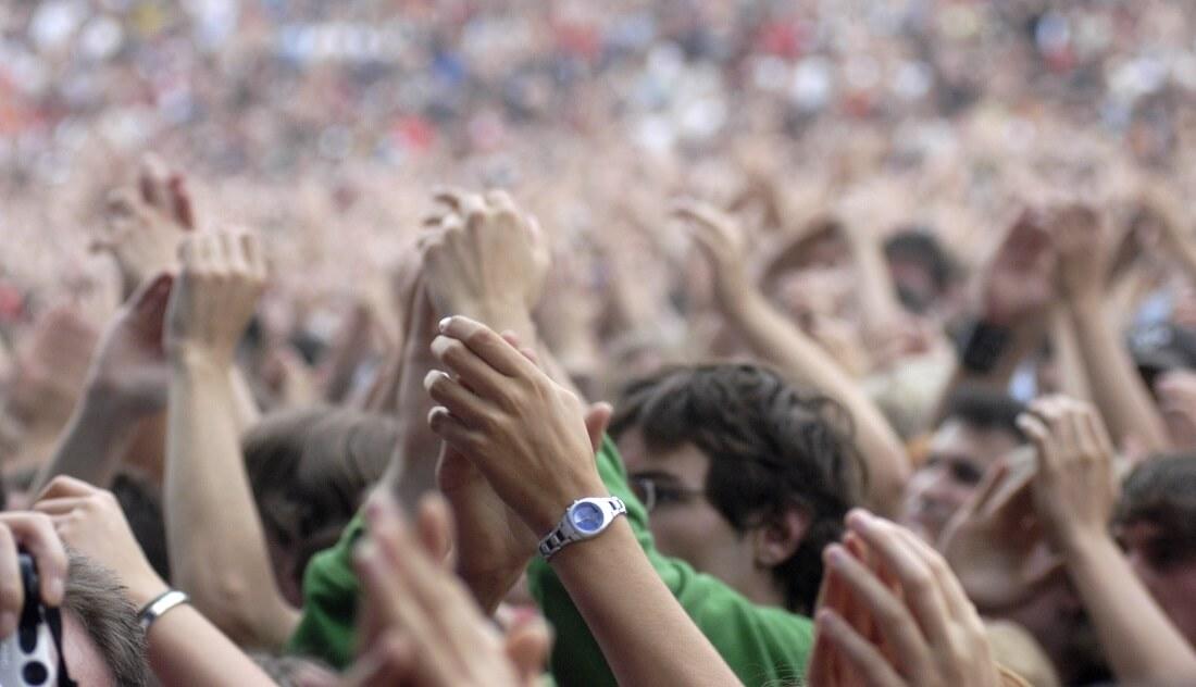 Konzert Zuschauer