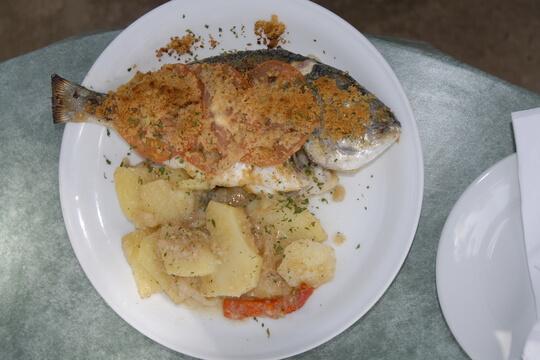 Menorca Fischrestaurant