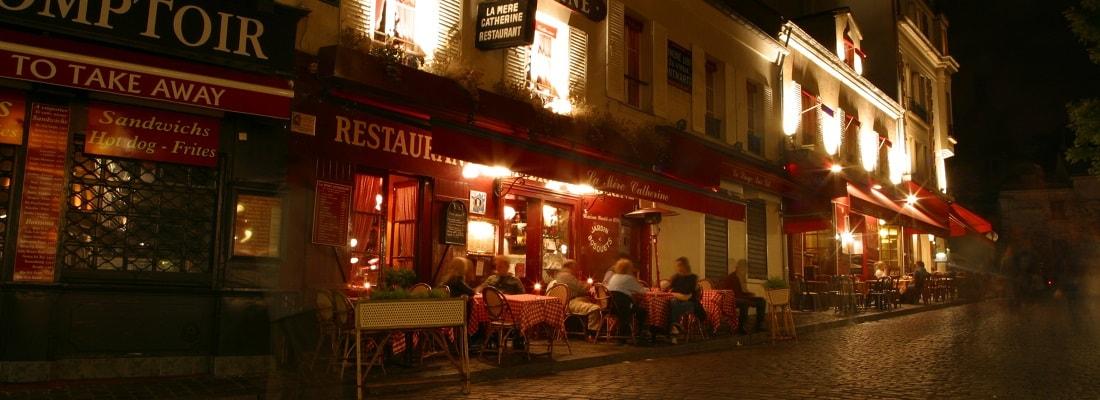Restaurant und Bars in Paris