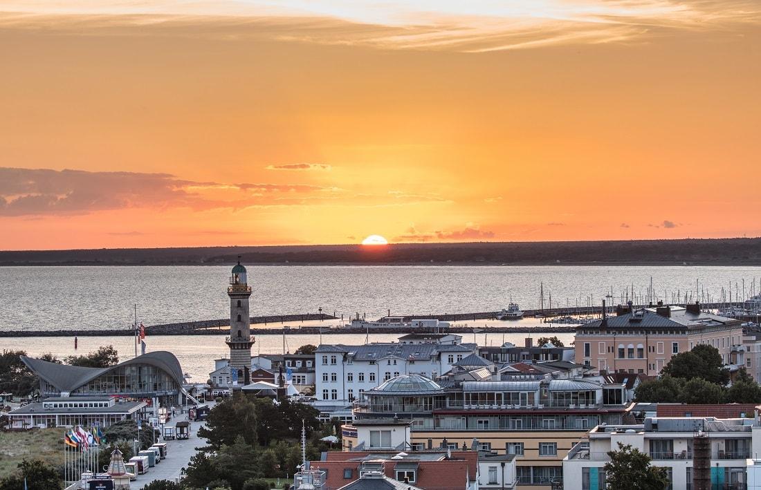 Rostock-Warnemünde Sonnenaufgang