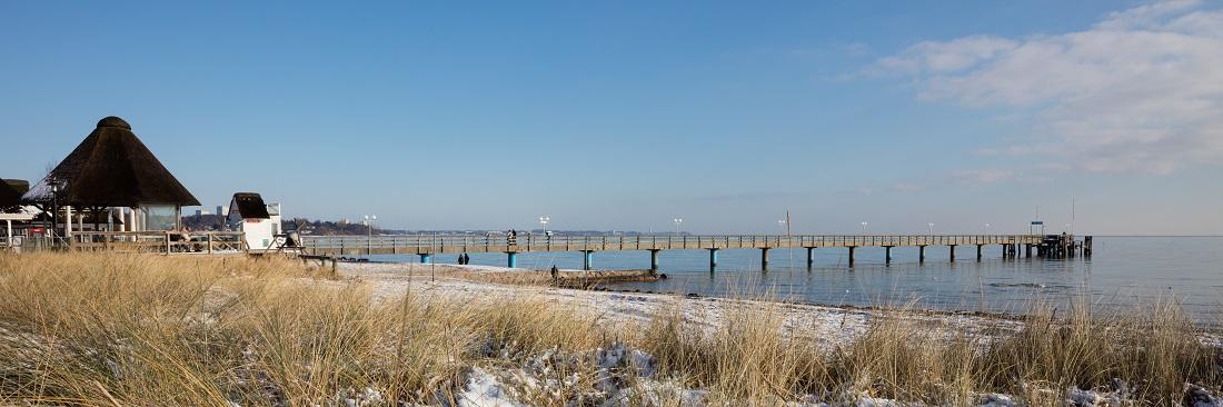 Scharbeutz Strand Seebrücke