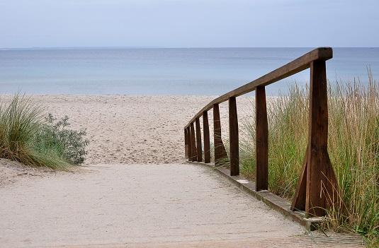 Scharbeutz Strandzugang