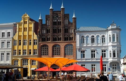 Stralsund Markplatz