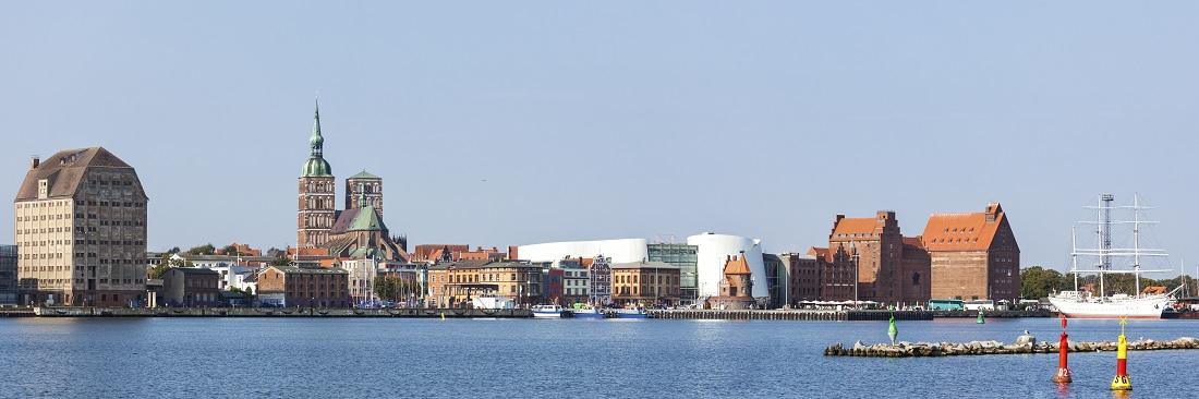 Hafen Stralsund Panorama