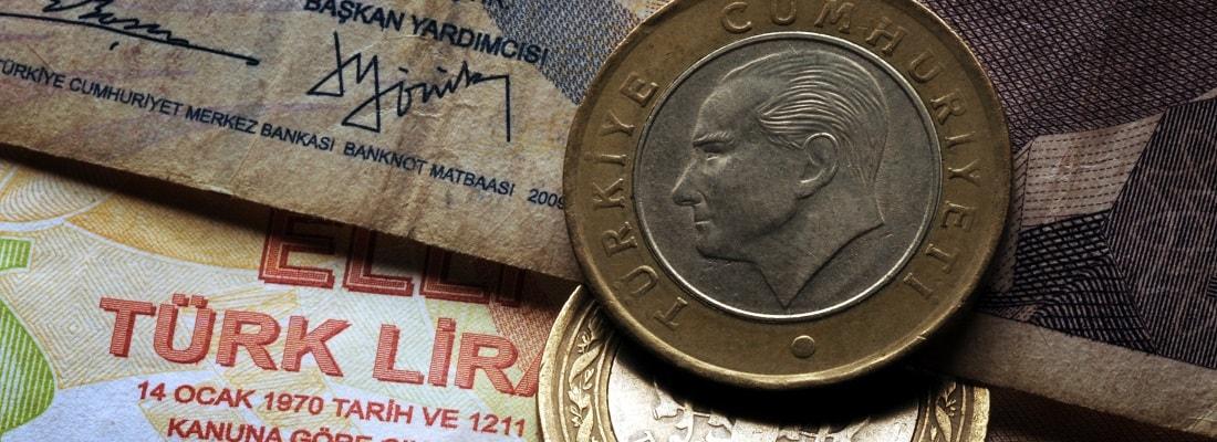 Türkische Lire, Münzen und Scheine
